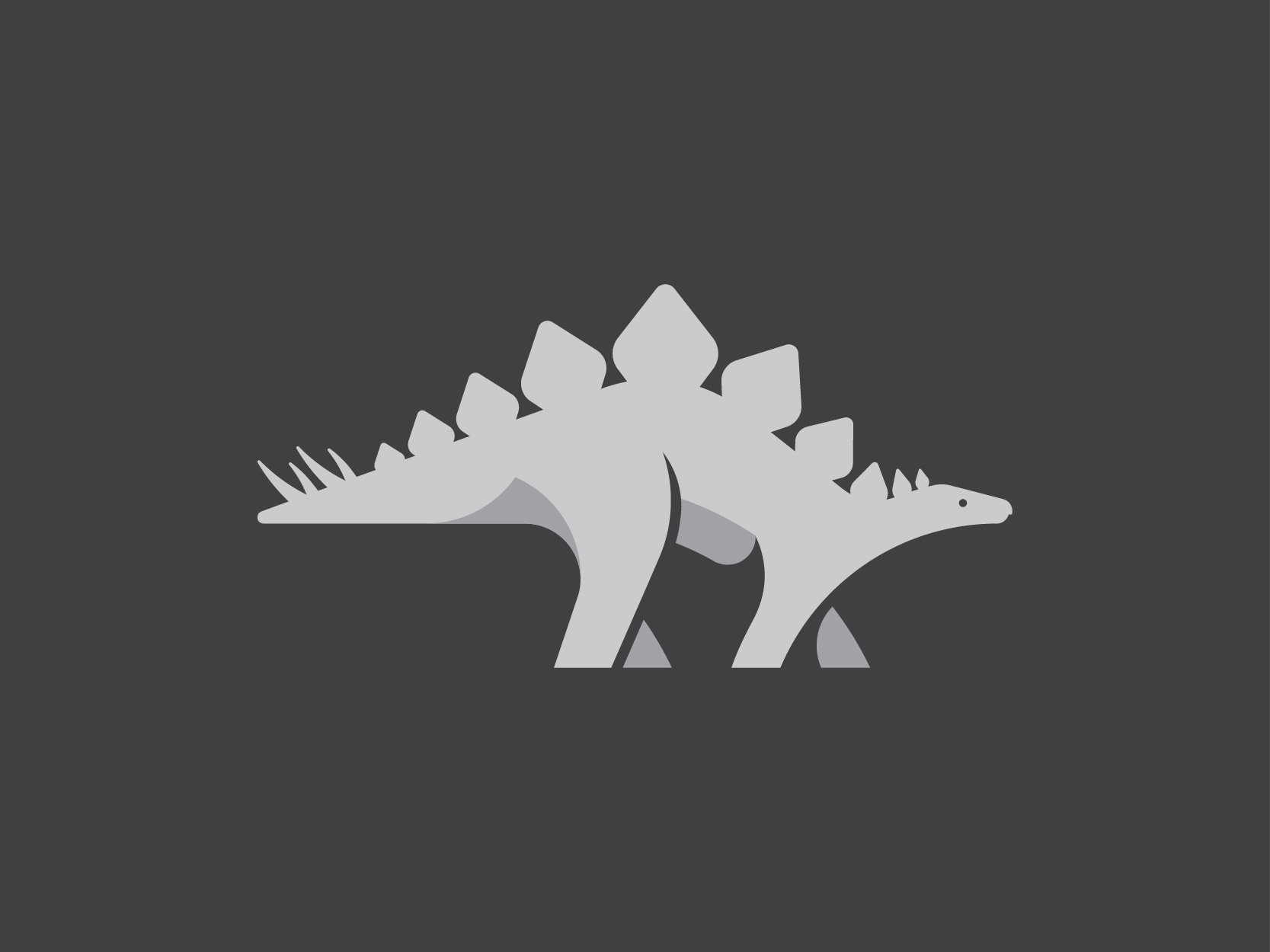 48 stegosaurus