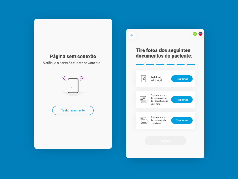 Med user inteface uidesign ui ios android app ipad tablet totem
