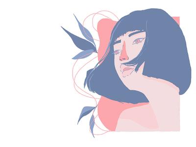 Girl+flowers