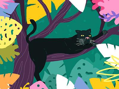 Welcome to the jungle artist blackpanter animals wild tree pantera jungle