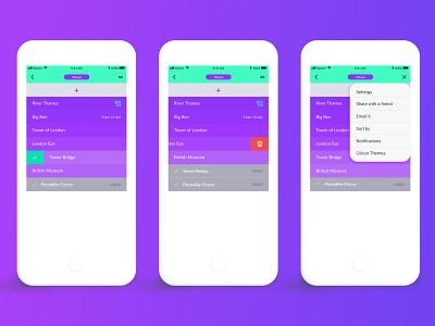 Dodo List App dodo mobile ui design visual design to do list to do to do app list app app design app interface uidesign ui