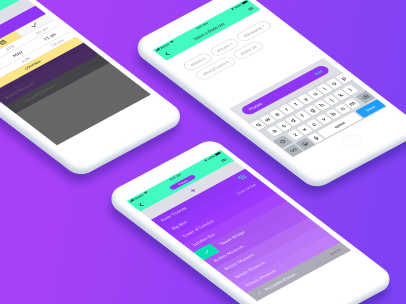 Dodo List App app ui ux interface design list app to-do list to-do to do list dodo app design ui app ui design ui