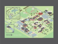 Hesston College Map