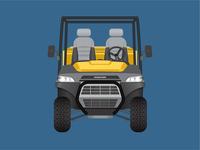 Utility Vehicle Illustration