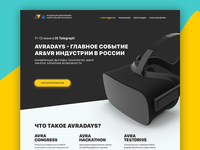 AVRADAYS - Landing page for AVRA Association
