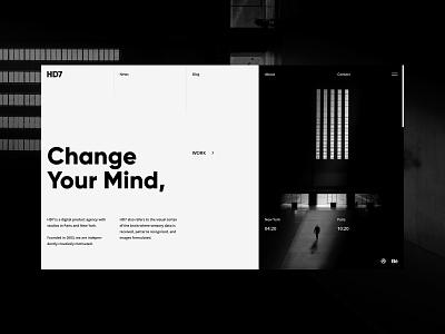 Gridwork ux ui site interaction design grid digital web studio minimal desktop clean