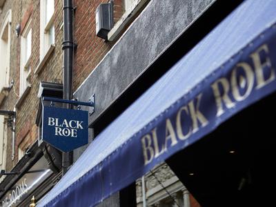 Black Roe Signage