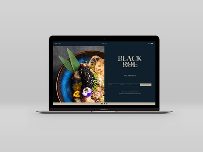 Black Roe Website Concept