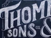 Thomp. & Sons