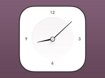 iOS7 Clock
