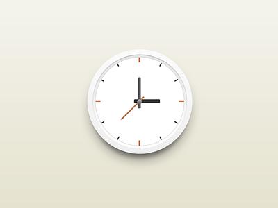 Round Clock round clock ui design china xiaowu