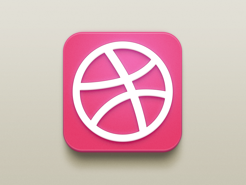 Dribbble Icon dribbble icon china xiaowu white pink red basketball