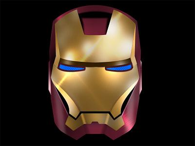 Iron Man ui design china man texture metal xiaowu