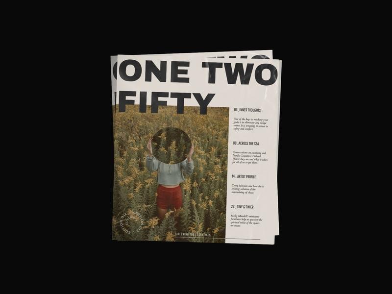 Edition 012 graphic design typography publication design magazine minimal