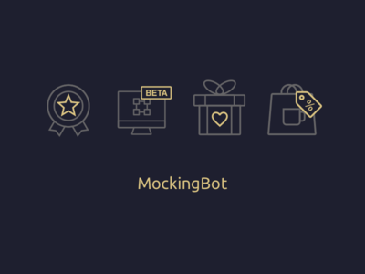 The VIP membership benefit icons card gift deal wireframe mockingbot icon benefit vip membership
