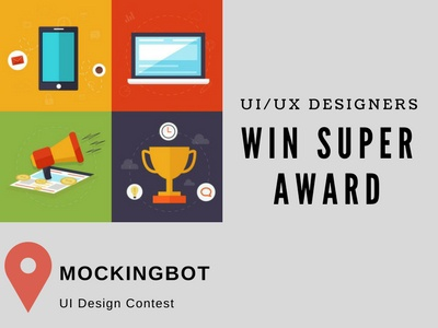 MockingBot UI Design Contest by Mockingbot prototype tool ux ui contest