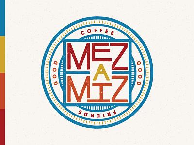 Mezamiz Coffee House branding 2 texas cafe coffee graphic design design logo branding