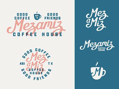 Mezamiz Coffee House logo packaging coffee graphic design design branding