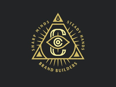 Canalluminati & Co. austin illuminati illustration texas branding design logo graphic design