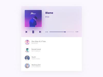 Music Player Freebie 🎁 download free music player music player ui sketch freebie