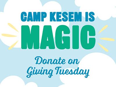 Camp Kesem Giving Tuesday magic illustration camp kesem giving tuesday