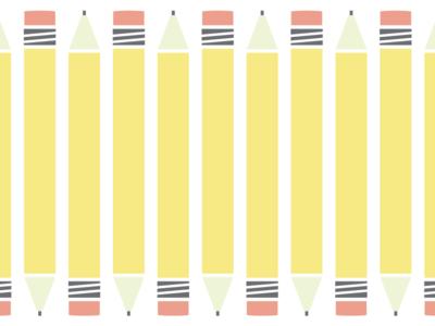 Pencil eraser pencil illustration