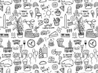 Doodles of my favorite things