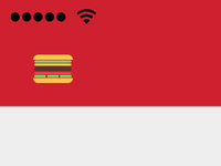 The real real hamburger menu