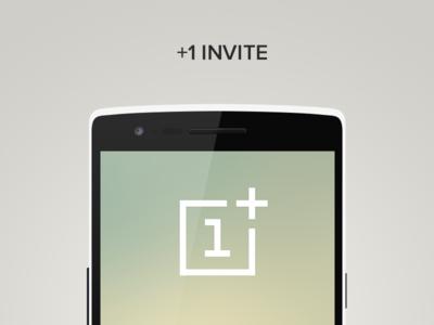 +1 Invite