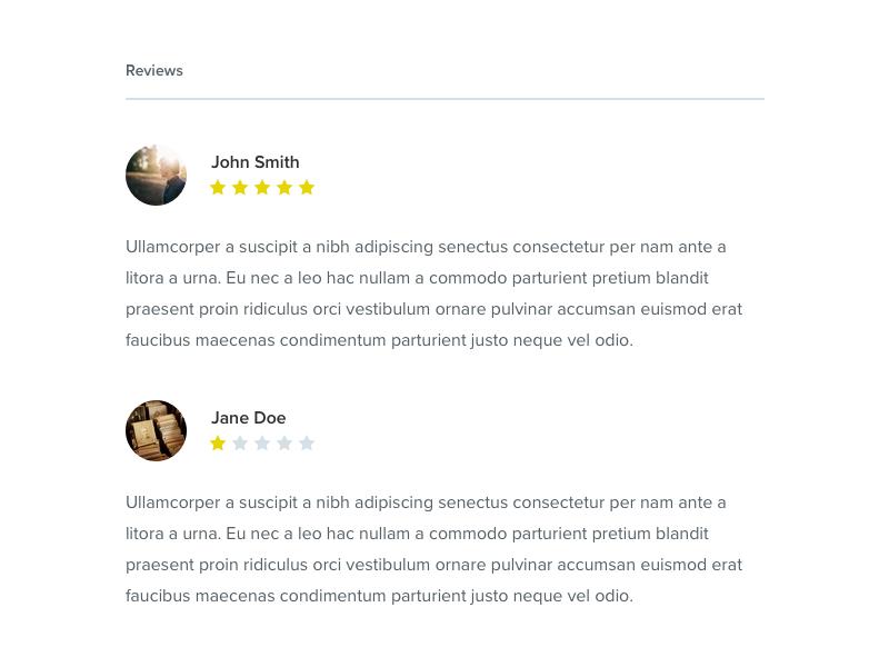 Minimal Reviews