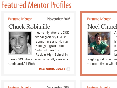 Featured Profiles