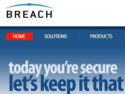 Breach.com (Breach Securities / mod_security Corporate Redesign)