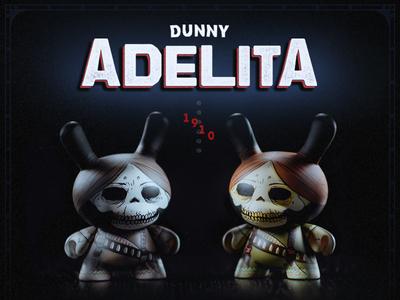 Dunny Adelita x Kidrobot