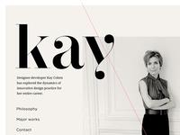 Website / Layout Design