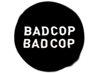 logo idea for bad cop bad cop
