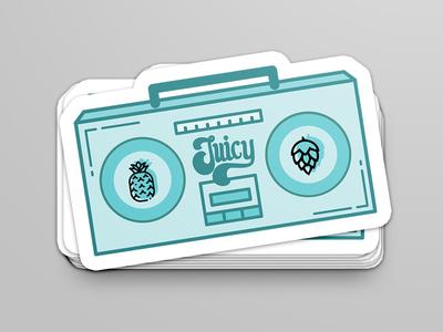Gettin' Juicy 'Wit It - Sticker