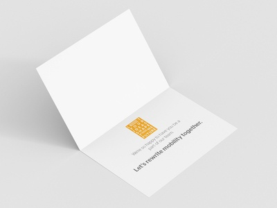 Continental Welcome Card (Inside)