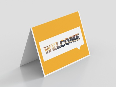 Continental Welcome Card