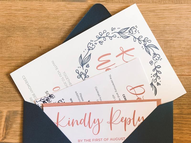 Howery Wedding Suite invite stationery design stationery wedding invite wedding design wedding