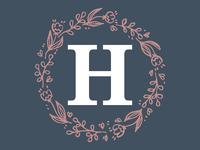 H + Wedding Wreath