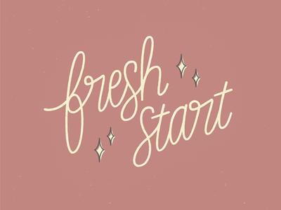 Fresh Start ✨
