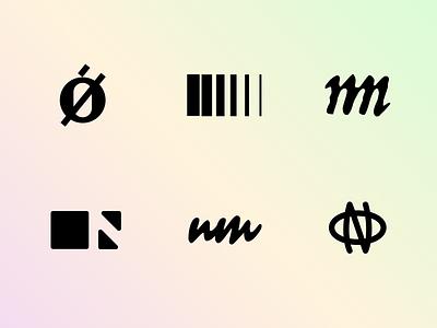 Brandmark exploration minimal brand mark simple design no nm m o n icon brandmark logo branding