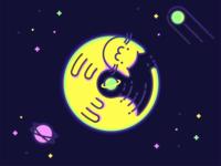 Cosmic Cat space cosmos cat