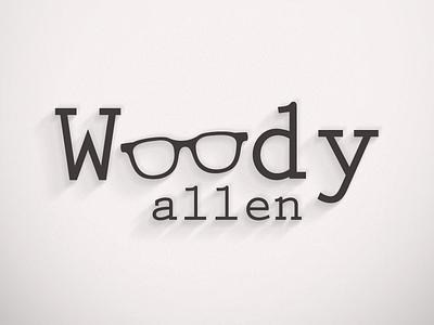 Woody Allen Logo logo design identity branding woody allen woody