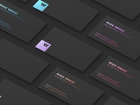 Business Cards. Save this idea