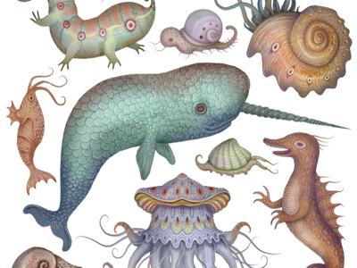 Sea creatures small   copy  2