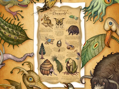 The Flora and Fauna of Discworld