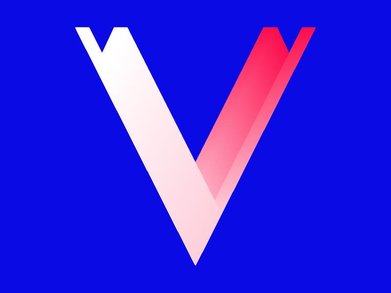 v - 36 Days of Type pattern colour shape vector illustration letters typography 36daysoftype 36days-v