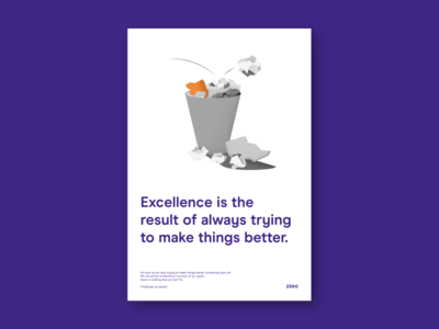 Zego Values - Excellence
