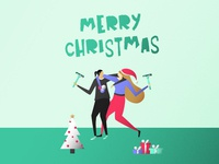 Drawcember 23 Merry Christmas
